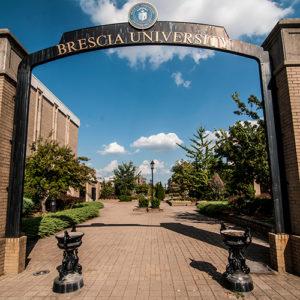 Brescia University arch